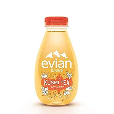 Evian X Kusmi Tea - Thé Blanc Pêche Violette - Les 6 Bouteilles De 370Ml - Prix Unitaire - Livraison Gratuit En France métropolitaine sous 3 Jours Ouverts