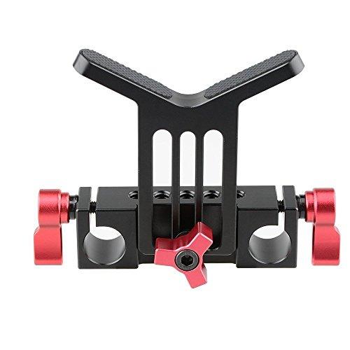 CAMVATE Lens Support 15 mm Rod Clamp Schiene Block für DSLR Rig Rod Träger schiene System 15 Mm Rod Support