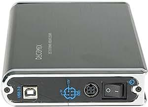 """Boitier externe 3.5"""" USB pour disque dur IDE/SATA."""