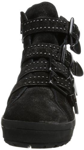 Kennel Und Schmenger Schuhmanufaktur Bombay, Hi-Top Slippers femme Noir - Noir