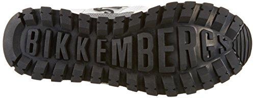 Bikkembergs Fend-er 866, Sneakers basses homme Blanc (White/black)
