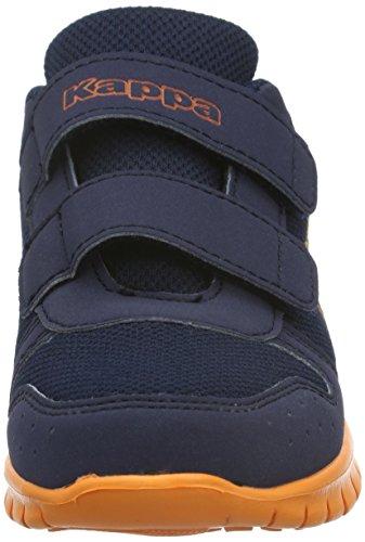 Kappa Note K, Baskets Basses Mixte Enfant Bleu (6744 Navy/orange)