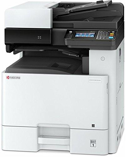 Kyocera Ecosys M8124cidn Farblaser Multifunktionssystem: Drucken, Kopieren, Scannen. 24 Seiten pro Minute. Inkl. Mobile-Print-Unterstützung für Smartphone und Tablet