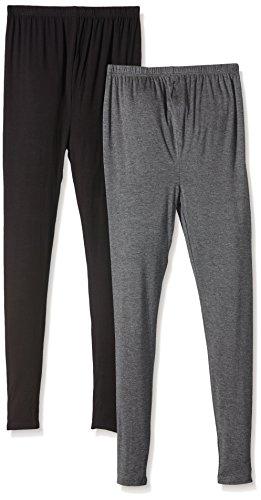 New Look 2 Pack Leggings - Pantalon de Maternité - Skinny - Femme Gris - Gris