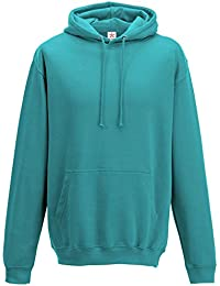 Plain Hawaiian Blue Hoodie, Pullover Hoodie PLUS 1 T SHIRT with Men's Hooded sweatshirt