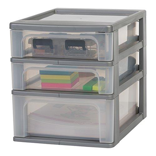 Iris Organizer Chest OCH-2021 Schubladen-/Tischschubladen-/Bürobox, Aufbewahrung für Schreibtisch,...