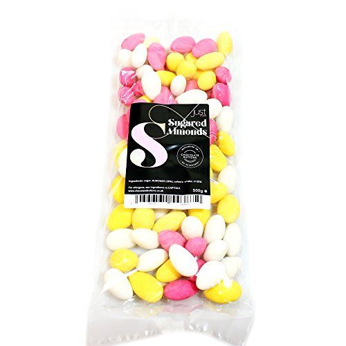Just Treats Sugared Almonds (500g Treat Bag)
