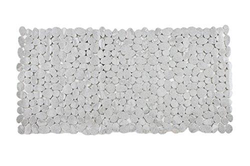 Badewanneneinlage Duscheinlage Duschmatte in Steinoptik - Rechteckig - Melange - ca. 70 x 35 cm - von Brandseller