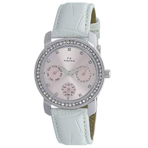 Maxima Analog Pink Dial Women's Watch-O-52931LMLI