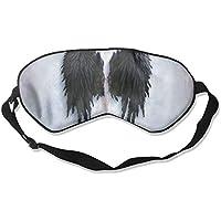 Sleep Eye Mask Angel Wings Lightweight Soft Blindfold Adjustable Head Strap Eyeshade Travel Eyepatch preisvergleich bei billige-tabletten.eu
