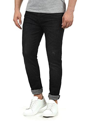 Indicode Aldersgate Jeans da Uomo TagliaW34/34 ColoreBlack