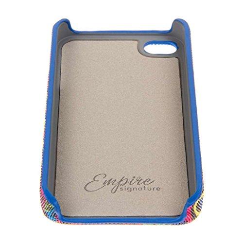 EMPIRE Signature Serie Slim-Fit Schutzhülle für Apple iPhone 4/4S _ P Neon Scribbles