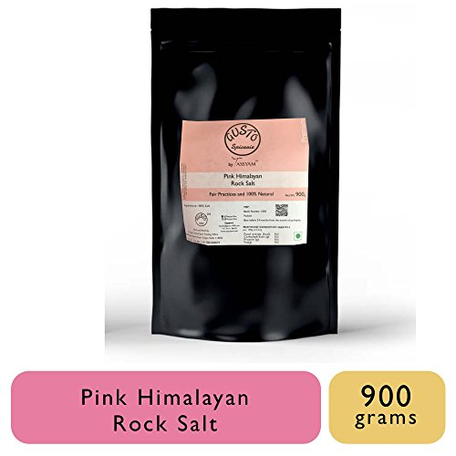 Gusto Spicerie Pink Himalayan Rock Salt Whole 900 Grams | Namak by Tassyam