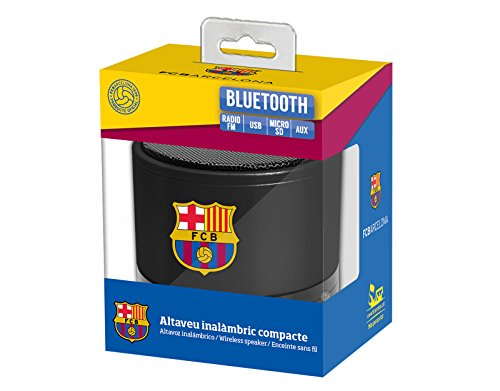 dd1aed3552b21 Enceinte sans fil compacte 3W Licence officielle FCB - FC Barcelone