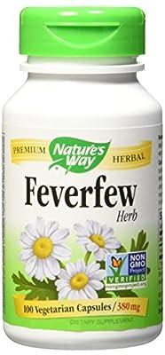 Nature's Way Organice Feverfew (100 Capsules) by Nature's Way