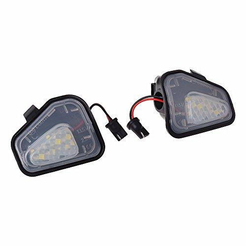 1 Paar LED Unter Seitenspiegel Puddle Licht Rückspiegel Lampe Für CC 12-14 EOS Passat B7 Licht China