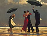 Migneco & Smith l'Affiche ILLUSTREE Poster Vettriano The Singing Butler Stampa Artistica in Offset cm.90 x 120 cod.00190120 Copia Originale Prodotta da Jack VETTRIANO
