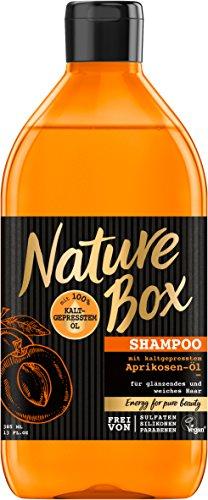 Nature Box Shampoo Aprikosen-Öl, 3er Pack (3 x 385 ml)