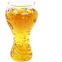 TOOGOO Vaso de alto contenido de borosilicato Copa Mundial 2018 Taza de cerveza coctel trofeo-