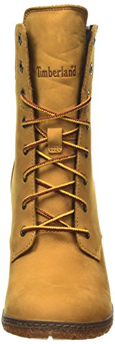 Timberland Glancy_glancy 6in, Stivaletti Donna Amarillo - Jaune (Wheat)