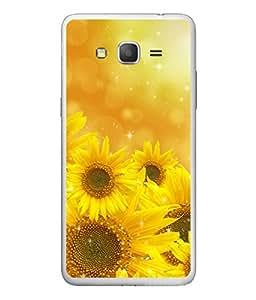 PrintVisa Designer Back Case Cover for Samsung Galaxy On7 G600Fy :: Samsung Galaxy Wide G600S :: Samsung Galaxy On 7 (2015) (Sun Flower Blooming In The Sun)