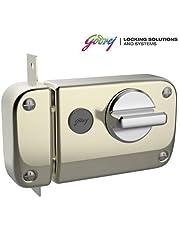 GODREJ Ultra XL+ Rim DEADBOLT 1CK 4 Keys Antique Brass