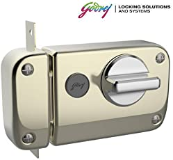 GODREJ Ultra XL+ Rim DEADBOLT 1CK 4 Keys Antique Brass