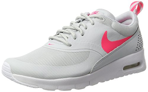 Nike Air Max Thea (Gs), Chaussures de Running Fille Multicolore (Pure Platinum/racer Pink White)