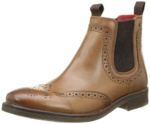 Base LondonSouthwark - Stivali Uomo , Beige (Beige (Burnished Tan)), 43