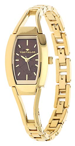 Tom Tailor Femmes Montre Or 5412805