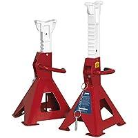 Sealey aas3000soportes de eje (par) 3tonne capacidad del soporte Auto Rise trinquete
