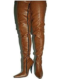79f14e90e47ef9 Kunstleder Stiefel high Heel 13cm Bolingier Poland Size 36-47 FS1527