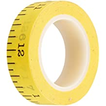 School Washi Tape 8mm, 12 Yards-Tape Measure