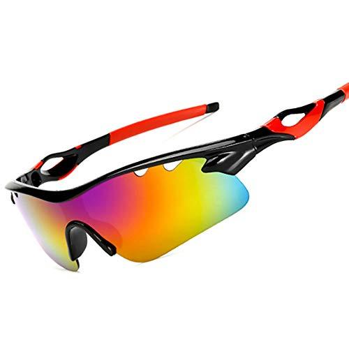 HUIHUAN Radfahren Brille Fahrer Fahren Sonnenbrille Sonnenbrille Flut Menschen Reiten Explosionsgeschützte Brille Nachtsicht Spiegel Sport Spiegel