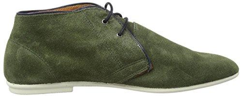 NoBrand Audien, Boots Chukka non doublées femme Vert - Grün (birch)