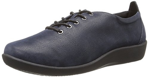 Chaussures Clarks Cloudsteppers Sillian Tino Lace-up Navy Synthetic Nubuck