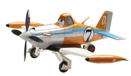 Dickie Spielzeug 203089803 - RC Disney Planes, Driving Plane Dusty, 2-Kanal Funkfernsteuerung