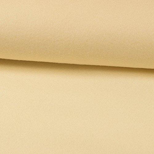 Deko- Bastelfilz 1mm natur -Preis gilt für 0,5 Meter-