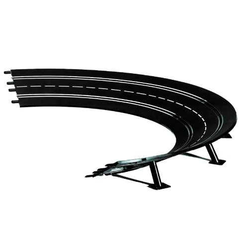 Carrera - rail et accessoire pour circuit - 20020575 - 1/24 et 1/32 Evolution Digital 132 et 124 - Virage relevé 2/30° (6)