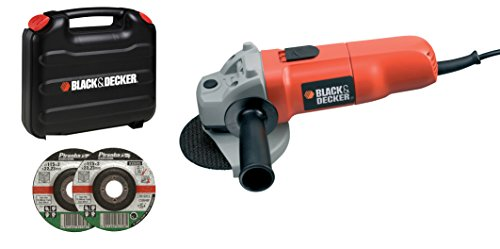 BLACK AND DECKER CD115KAX-QS - AMOLADORA 710 W  Y 115 MM DE DISCO CON MALETIN (230 V)