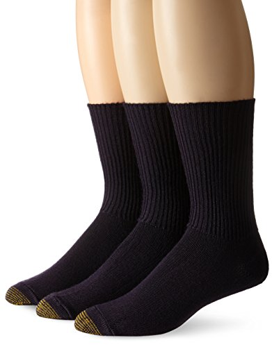 Gold Toe Herren fluffiecasual Socken Gr. One size, navy (Toe Liner Gold)