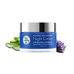 The Moms Co Natural Age Control Night Cream l Face Cream l Overnight Repair & firming l Reduce Fine Lines & Wrinkles l Anti Ageing l Natural Retinol and Niacinamide(50 gm)