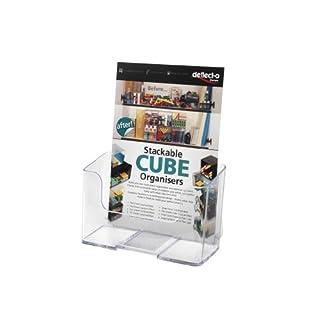 Deflecto Standard Literature Holder Rigid A5 Clear Ref 74901