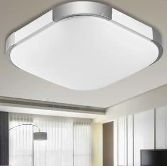 Plafoniera led 12 watt lampada da soffitto piatta a basso consumo resistente a umidit sottile - Lampade a led per casa ...
