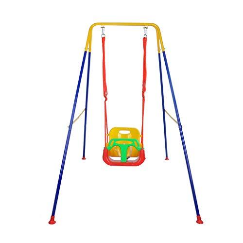 QQET-L Columpio del Parque de diversiones, la Sala de Estar del hogar del niño Juguete para bebés Parque Interior Columpio de la habitación de los niños (Tamaño : 125 * 160 * 165CM)