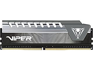 Viper Elite DDR4 2400 8GB (1x8GB) C16 Módulo de Memoria Alto Rendimiento XMP 2.0 Negro/Gris PVE48G240C6GY (B074Q1G6VR)   Amazon price tracker / tracking, Amazon price history charts, Amazon price watches, Amazon price drop alerts