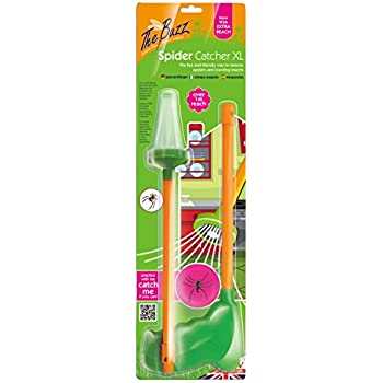 My pink pals spider vacuum limited edition pink vacs the buzz x large spider catcher extra long 1 m handle humanely remove spiders insects moths butterflies and daddy long legs mightylinksfo