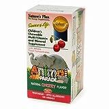 Best Nature's Plus Kid Multivitamins - Nature's Plus Animal Parade Children's Chewable Multi-Vitamin Review