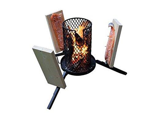 Flammlachs-Feuerkorb mit Zubehör - 4
