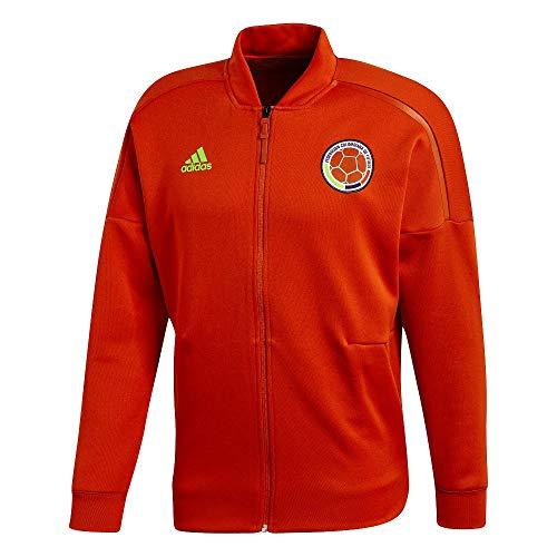 adidas Herren Kolumbien Z.N.E Jacke, Scarle, XL - Adidas Kolumbien Fußball